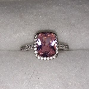 Jewelry - Pink Sapphire Silver